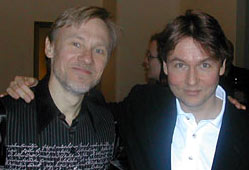 Claude Delangle et Esa-Pekka Salonen