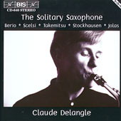 The Solitary Saxophone – CD BIS 640